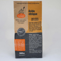 Acide citrique 500g sac